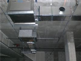 HVAC Unit w/ ducts